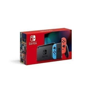 Nintendo Switch 本体 Joy-Con(L) ネオンブルー/(R) ネオンレッド(バッテリー持続時間が長くなったモデル)|largo1991