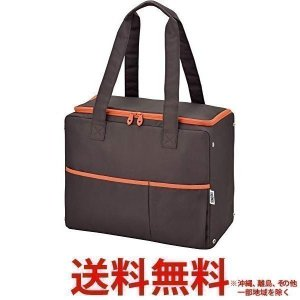サーモス 保冷ショッピングバッグ 25L ブラウン RER-025 BW(1コ入) 送料無料|largo1991