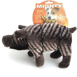 正規品 しなやかな形状のMIGHTY マイティー ウリボウのハビエル(ジュニア) 丈夫なうりぼう 小型犬〜中型犬用おもちゃ ワンちゃんへプレゼント larrys-company