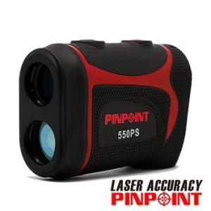 PINPOINT550PS ゴルフレーザー距離計(専用ケース・ストラップ付)直線距離専用 レーザーア...