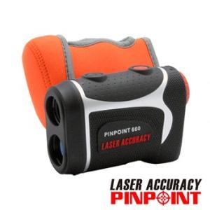 【最終特価】PINPOINT660 カバーC01セット ゴルフレーザー距離計(専用ケース・ストラップ付)高低差対応・防水仕様 レーザーアキュラシー ピンポイント|laseraccuracy
