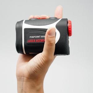 【ポイント最大20倍】PINPOINT900 ゴルフレーザー距離計(専用ケース・ストラップ付)高低差対応・防水 レーザーアキュラシー ピンポイント laseraccuracy 02