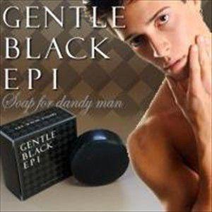 『ジェントルブラックエピ(抑毛ソープ)』 毛深く、濃い毛の人間だとしても完全に毛の質を変え、脱毛に至...