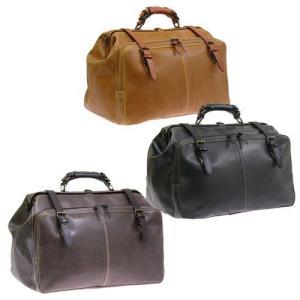 トラベルボストンバッグ 日本製信頼の国産・豊岡製鞄  アンティークフェイクレザー 少し小さめの41cm lassana