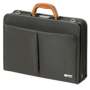 ビジネスバッグ・ブリーフケース 信頼の日本製 桜材ハンドルの手触りが優しくそして高機能な鞄・LLサイズ lassana