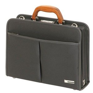 ビジネスバッグ・ブリーフケース 信頼の日本製桜材ハンドルの手触りが優しくそして高機能な鞄 lassana
