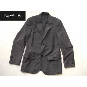 アウトレット品 アニエスb  高級ジャケット グレー 44|lastpass