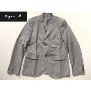 アウトレット品 アニエスb  高級ジャケット グレー 48|lastpass