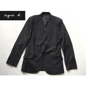 アウトレット品 アニエスb  高級ジャケット ブラック 46|lastpass
