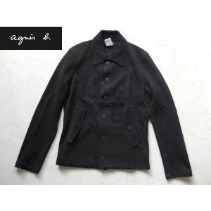 アウトレット品 アニエスb  高級ジャケット ブラック 0|lastpass
