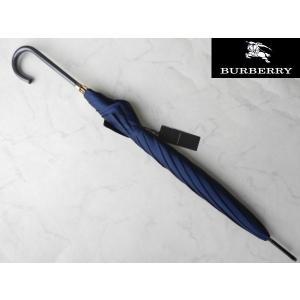 アウトレット品 BURBERRY バーバリー 婦人専用 雨傘 ネイビー|lastpass