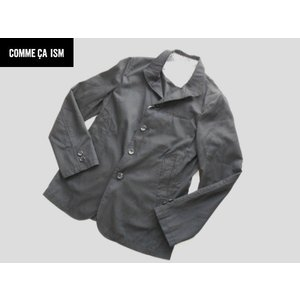 COMME CA ISM コムサイズム 上質ジャケット ブラック Sサイズ|lastpass