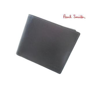 アウトレット品 ポールスミス 二つ折り財布 小銭入れ&カードケース ネイビー|lastpass
