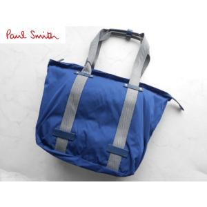 ポールスミス 上質ハンドバッグ ブルー|lastpass