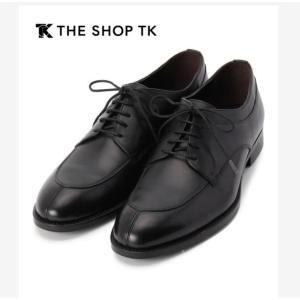 タケオキクチ THE SHOP TK 上質ビジネスシューズ デザイン&履き心地◎ ブラック 26cm|lastpass