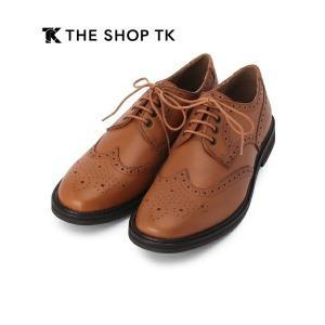 タケオキクチ THE SHOP TK 上質ビジネスシューズ デザイン&履き心地◎ ブラウン 26cm|lastpass