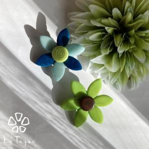 LT-7010 タグア ブローチ 花(小) Tagua Brooch Flower (small)|lataguab