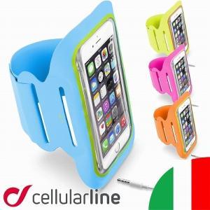 アームバンド ランニング スマホ iPhone 7 6s Plus Xperia Galaxy アイフォン プラス エクスペリア ギャラクシー ジョギング セルラーライン ブランド|lauda