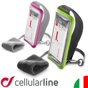 アームバンド ウェストポーチ ウエストポーチ スマホ iPhoneSE iPhone6s iPhone6 ケース ポーチ ランニング セルラーライン HAND BAND|lauda