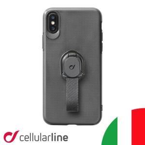 iPhone XR ケース ブランド iphone8 iphone7 XS Max X リング スタンド Cellularline|lauda