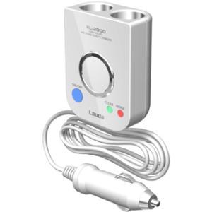 2連 ノイズレスSuper電源ソケット ホワイト XL-2000 (Lauda) ラウダ|lauda