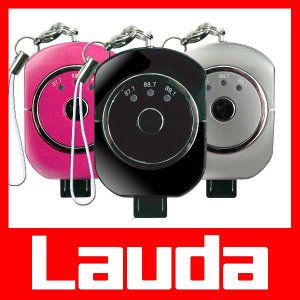 FMトランスミッター iPhone5S/iPhone5C/iPod/スマートフォン対応 lauda