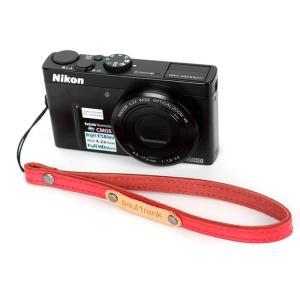 paul frank/ポールフランク ミラーレスカメラ/コンパクトデジカメ用 ハンドストラップ 13PF-SH01-1 RED レッド laughs