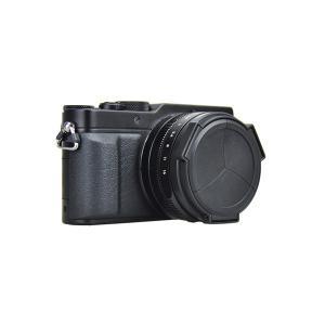JJC LUMIX LX100/D-Lux Typ109専用オートレンズキャップ ブラック|laughs