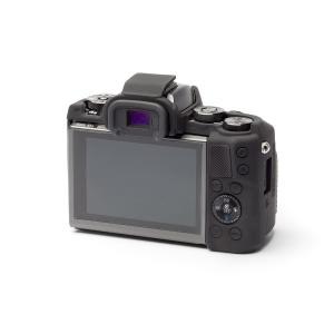 EASY COVER/イージーカバー Canon EOS M5 用 カメラカバー ブラック 液晶保護フィルム付|laughs|02