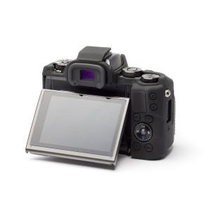 EASY COVER/イージーカバー Canon EOS M5 用 カメラカバー ブラック 液晶保護フィルム付|laughs|03