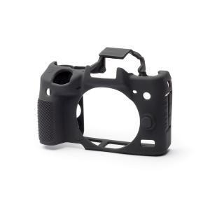 EASY COVER/イージーカバー Canon EOS M5 用 カメラカバー ブラック 液晶保護フィルム付|laughs|04