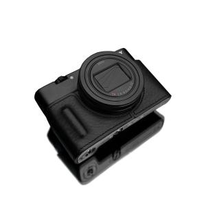 GARIZ SONY RX100 VI (DSC-RX100M6) 用 本革カメラケース HG-RX100M6BLK ブラック|laughs