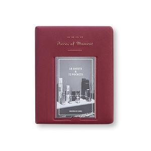iconic/アイコニック チェキアルバム My Polaroid Ver.3 Pieces of Moment BURGUNDY