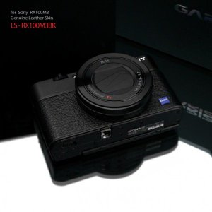 GARIZ/貼り革ステッカー SONY LS-RX100M3用 LS-RX100M3BK|laughs