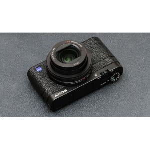 ソニー Cyber Shot RX-100M5用張り革キット ブラック laughs 04