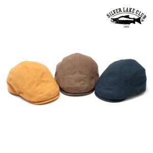 SILVER LAKE CLUB/シルバーレイククラブ 10号帆布 帽子 ハンチング モンカゲロウ 3Color|laughs
