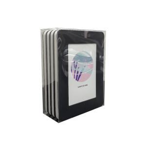 thehaki L判サイズ用 サンドイッチフレーム 4P セット (ブラック)|laughs