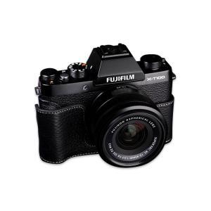 【TP Original社認定 正規輸入品】  『FUJIFILM X-T100用おしゃれ本革カメラ...