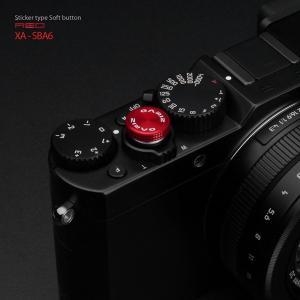 GARIZ/ゲリズ レリーズボタン(貼り付けタイプ) XA-SBA6 レッド|laughs