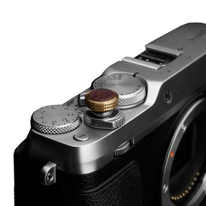 GARIZ/ゲリズ イタリアンレザー ソフトレリーズシャッターボタン(ネジ式) 12mm ブラウン XA-SBLBR laughs