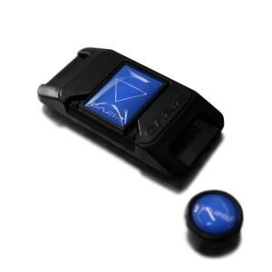 GARIZ ホットシューカバー ソフトボタン(シール式レリーズボタン)セット XA-SP2 ブルー|laughs