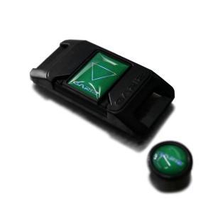GARIZ ホットシューカバー ソフトボタン(シール式レリーズボタン)セット XA-SP2 グリーン|laughs
