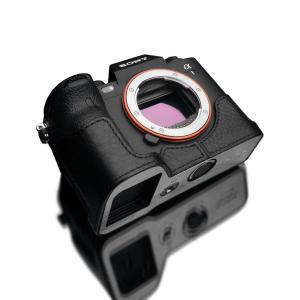 GARIZ SONY α1 用 本革カメラケース XS-CHA1BK ブラック laughs