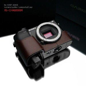 GARIZ/本革カメラケース SONY α6000用 XS-CHA6000BR|laughs