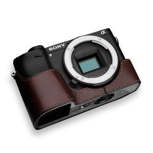 GARIZ/ゲリズ SONY α6400/α6300 兼用 本革カメラケース XS-CHA6400B...