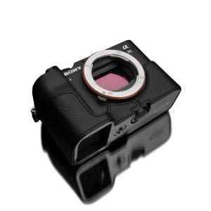 GARIZ/ゲリズ SONY α7C 用 本革カメラケース XS-CHA7CBK ブラック laughs