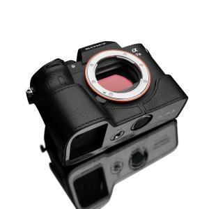 GARIZ/ゲリズ SONY α7 III (ILCE-7M3K) 専用 本革カメラケース XS-CHA7M3BKO ブラック|laughs