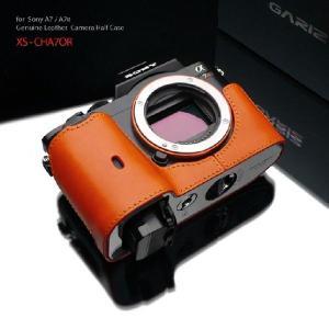 GARIZ/本革カメラケース SONY α7/α7R/α7S兼用 XS-CHA7OR laughs