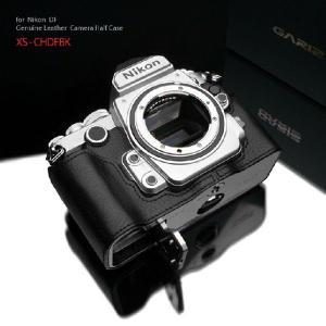 GARIZ/本革カメラケース Nikon DF用 XS-CHDFBK|laughs