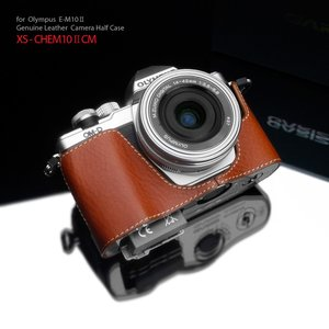GARIZ/ゲリズ OLYMPUS OM-D E-M10 Mark II 用 本革カメラケース XS-CHEM10IICM キャメル|laughs